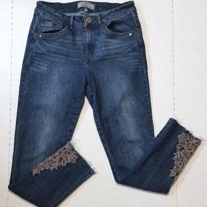 Wit & Wisdom jeans size 4 high waist ankle skimmer